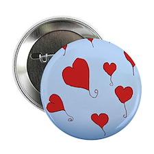 "Sky hearts_king_duvet 2.25"" Button"