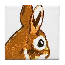 Bunny Head Tile Coaster