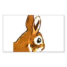Bunny Head Decal