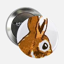 "Bunny Head 2.25"" Button"