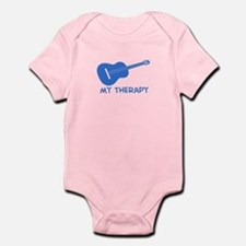 Ukelele my therapy Infant Bodysuit