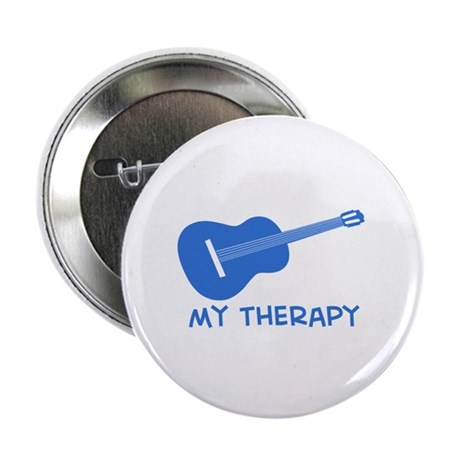 "Ukelele my therapy 2.25"" Button (10 pack)"