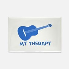 Ukelele my therapy Rectangle Magnet