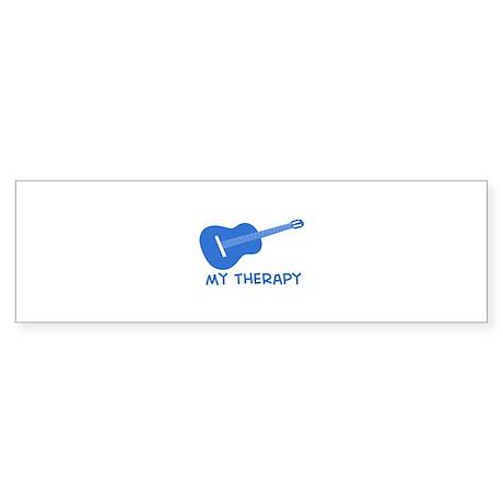 Ukelele my therapy Sticker (Bumper)