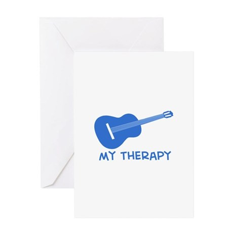 Ukelele my therapy Greeting Card