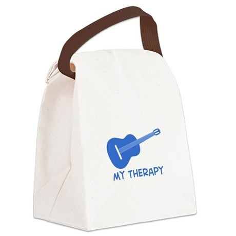 Ukelele my therapy Canvas Lunch Bag