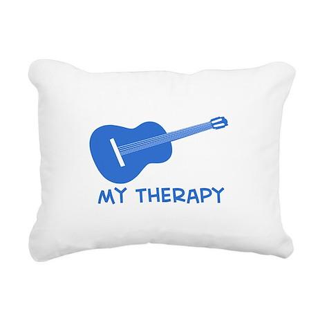 Ukelele my therapy Rectangular Canvas Pillow