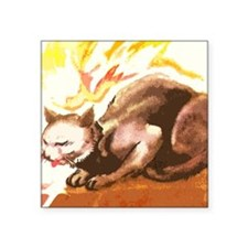 By The Fire Place Sticker