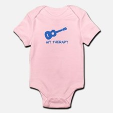 Ukelele my therapy Infant Bodysuit