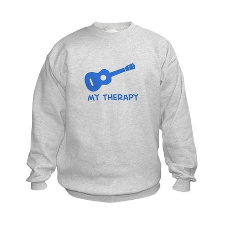 Ukelele my therapy Kids Sweatshirt