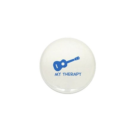 Ukelele my therapy Mini Button (10 pack)