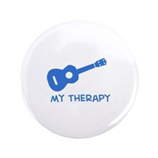 """Ukelele my therapy 3.5"""" Button"""