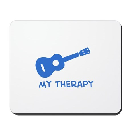 Ukelele my therapy Mousepad