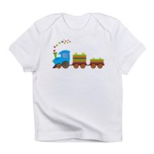 Colorful Toy Train Infant T-Shirt