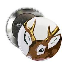 """reindeer 2.25"""" Button"""
