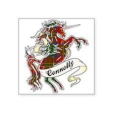 """Connolly Unicorn Square Sticker 3"""" x 3"""""""
