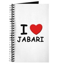 I love Jabari Journal