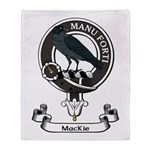 Badge - MacKie Throw Blanket
