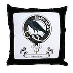 Badge - MacKie Throw Pillow