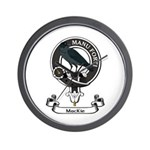 Badge - MacKie Wall Clock