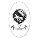 Badge - MacKie Sticker (Oval 50 pk)