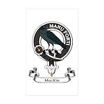 Badge - MacKie Sticker (Rectangle 10 pk)
