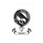 Badge - MacKie Sticker (Rectangle 50 pk)