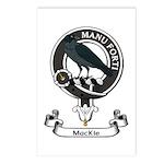 Badge - MacKie Postcards (Package of 8)