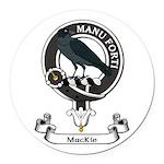 Badge - MacKie Round Car Magnet