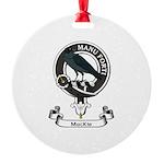 Badge - MacKie Round Ornament