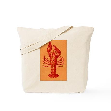 Red Crawfish Logo Tote Bag