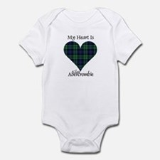 Heart - Abercrombie Infant Bodysuit