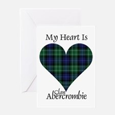 Heart - Abercrombie Greeting Card