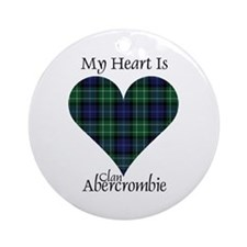 Heart - Abercrombie Ornament (Round)