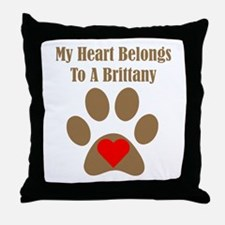 Brittany2 Throw Pillow