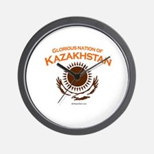 Glorious Kazakhstan Wall Clock