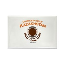 Glorious Kazakhstan Rectangle Magnet