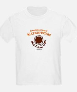 Glorious Kazakhstan Kids T-Shirt
