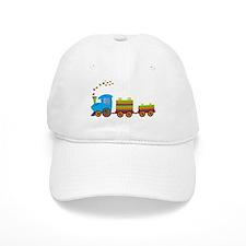 Colorful Toy Train Baseball Baseball Cap