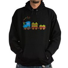 Colorful Toy Train Hoodie