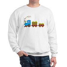Colorful Toy Train Sweatshirt