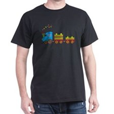 Colorful Toy Train T-Shirt