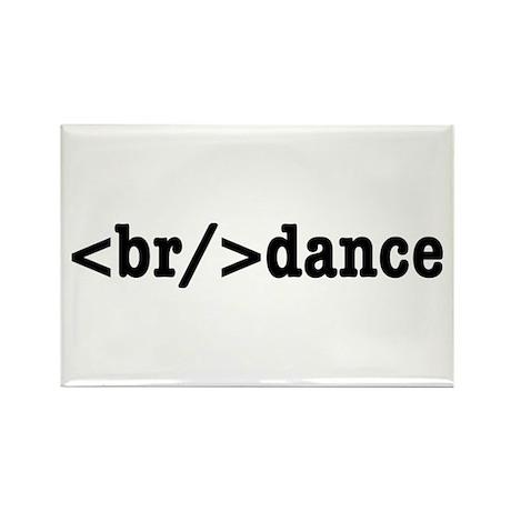 breakdance HTML Rectangle Magnet