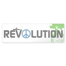 Revolution // Bumper Car Sticker