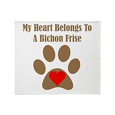 Bichon Frise2 Throw Blanket