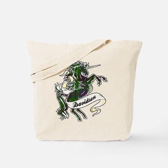 Davidson Unicorn Tote Bag