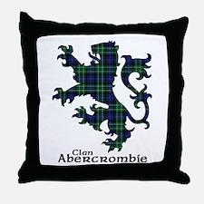 Lion - Abercrombie Throw Pillow