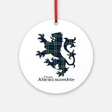 Lion - Abercrombie Ornament (Round)