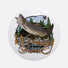 Wyoming is Paradise 3 Ornament (Round)