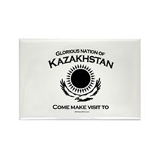 Glorious Nation of Kazakhstan Rectangle Magnet